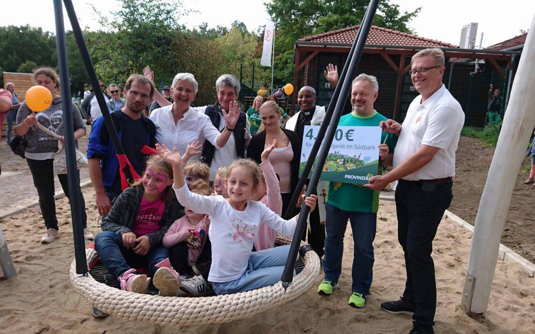 """Spielplatz """"Kraut und Rüben"""" zum Familienfest eröffnet"""